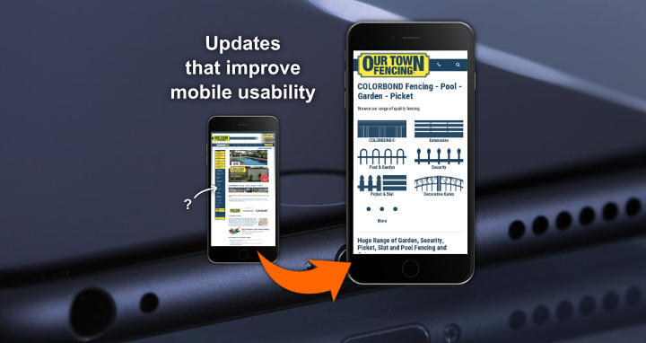Mobile Website Updates